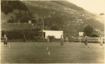 Print, Photographic, Croquet Club, Mount Maunganui