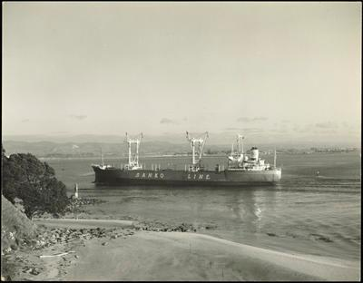Print, Photographic, Sanko Line, Tauranga Harbour