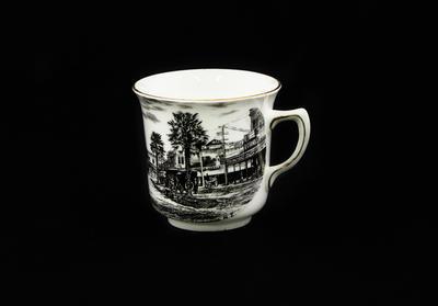 Souvenir Cup and Saucer