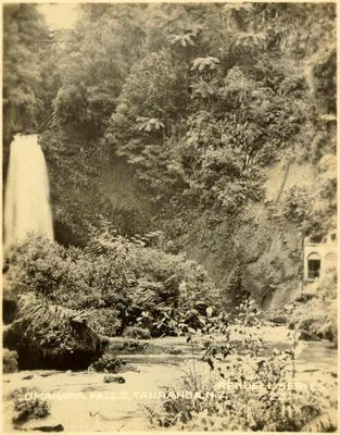 Print, Photographic, Omanawa Falls, Power House, Tauranga