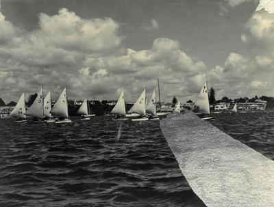 Print, Photographic, Yacht Race