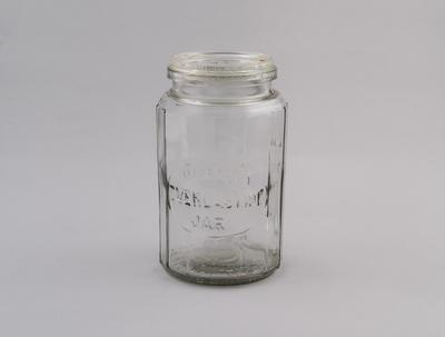 Preserving Jar with Lid