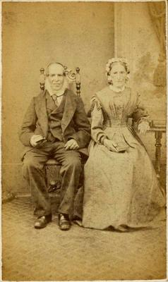 Print, Photographic, Elderly couple