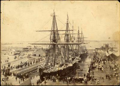 Print, Photographic, Calliope Dock, Devonport Naval Base, Auckland