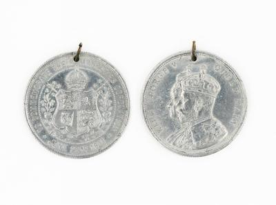 Medal, Coronation, King George