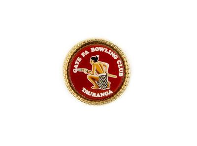 Badge, Gate Pa Bowling Club
