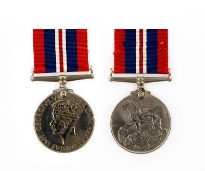 New Zealand Army War Medal, WW2