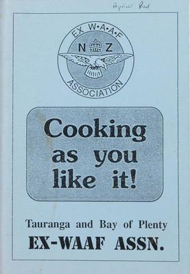 Cookbook, Cooking As You Like It