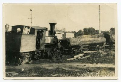 Print, Photographic,  Portland Baby Deckette Steam Locomotive