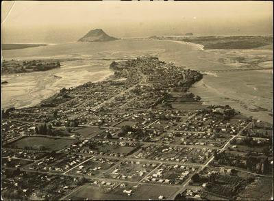 Print, Photographic, Te Papa, Tauranga, Aerial
