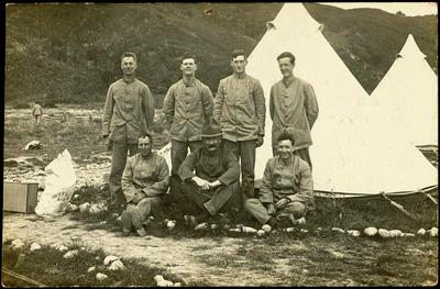 Print, Photographic, Soldiers, Trentham Camp, WW1