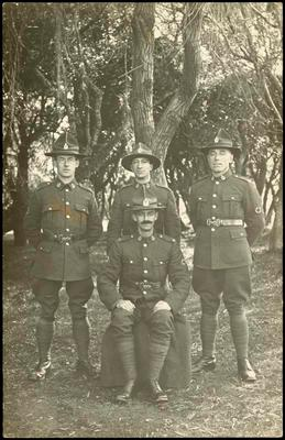 Print, Photographic, Group Soldiers, NZ Medical Corp, WW1