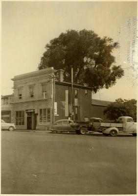 Print, Photographic, Opera House, Harington Street, Tauranga