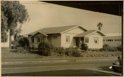 Print, Photographic, The Parsonage, Methodist Church, Tauranga