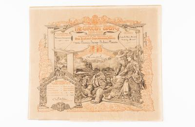 Service Certificate, WW1