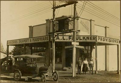 Print, Photographic, Faulkner's Store, Eleventh Avenue, Tauranga