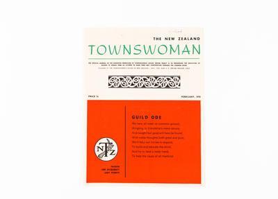 Journal, The New Zealand Townswoman
