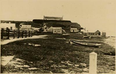 Print, Photographic, Redoubt, Haggerty's boat yard, Tauranga
