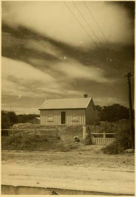 Print, Photographic, Adams Cottage, Mount Maunganui