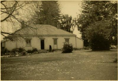 Print, Photographic,  Back view of The Elms, Tauranga