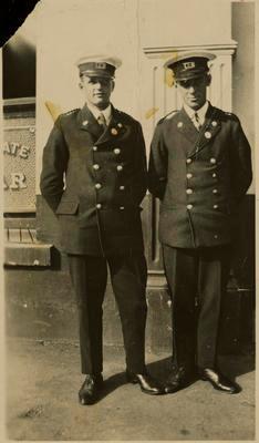 Print, Photographic, Tauranga Fire Brigade Members
