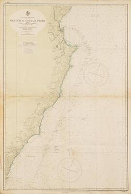 Map, Castle Point, North Island
