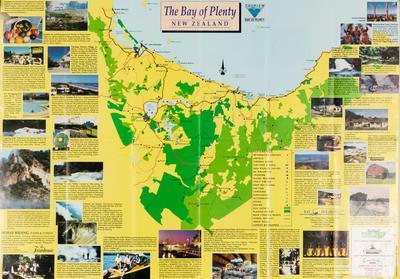 Map, Tourism, Bay of Plenty