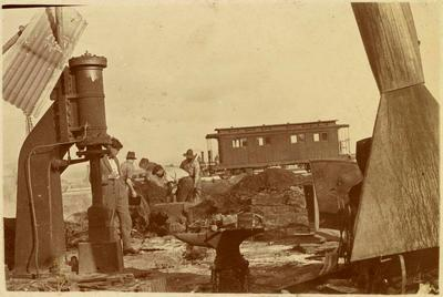 Print, Photographic, Workshop Fire, P.W.D., Mount Maunganui