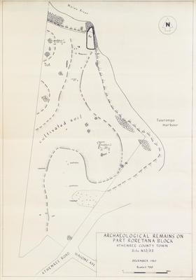Map, Archaelogical, Athenree
