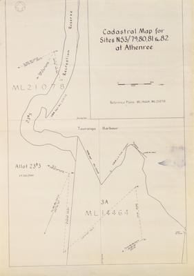Map, Cadastral, Athenree