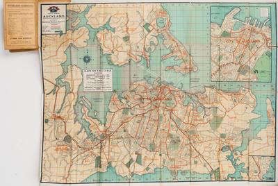 Map, Greater Auckland