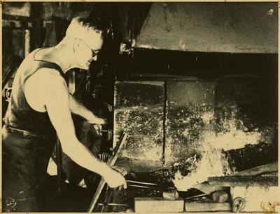 Print, Photographic, Charlie Haua, Tauranga Blacksmith