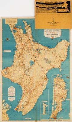 Map, North Island, NZ