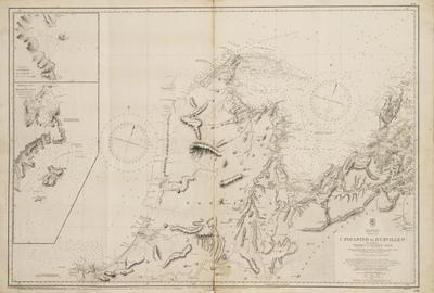Map, Cape Foulwind to D'Urville Island, South Island