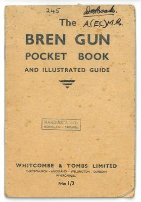 Booklet, Bren Gun