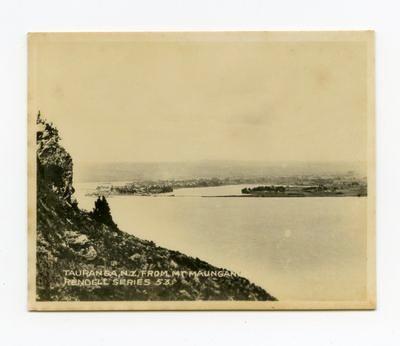 Print, Photographic, Tauranga from Mauao