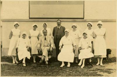 Print, Photographic, Dr Lumley, Dr McDairmid, Tauranga Hospital Staff