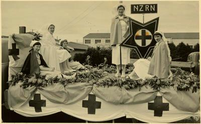 Print, Photographic, Parade Float, NZRN