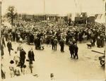 Print, Photographic, Opening of Railway, The Strand, Tauranga