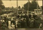 Print, Photographic, Opening of WW1 Memorial Gates, Tauranga Domain